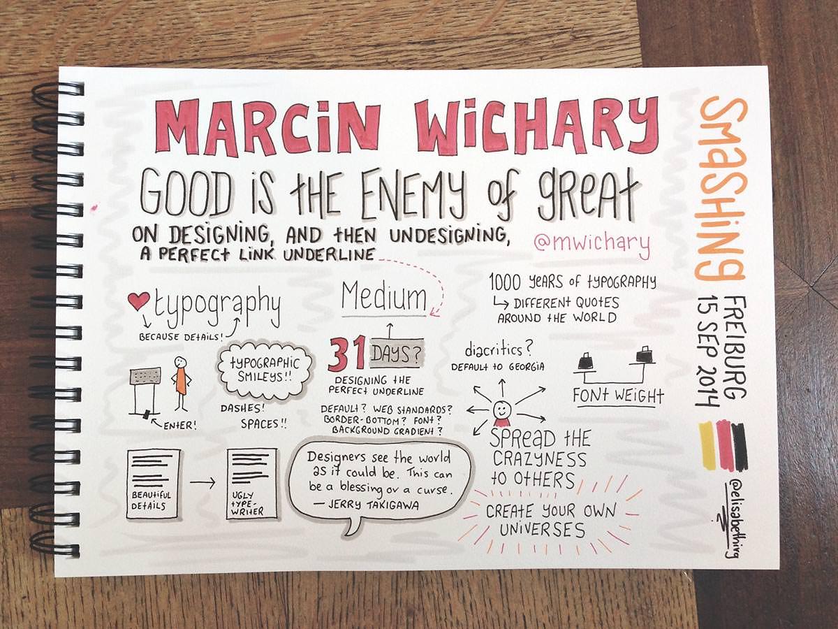Smashing Freiburg 2014 // Marcin Wichary
