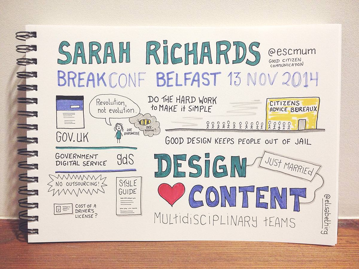 Break Conf 2014 // Sarah Richards