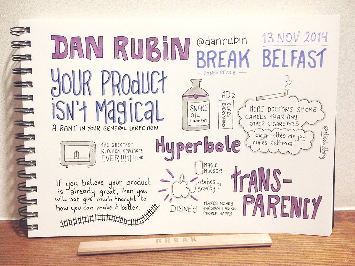 Break Conf 2014 // Dan Rubin