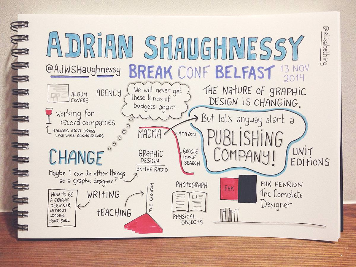 Break Conf 2014 // Adrian Shaughnessy