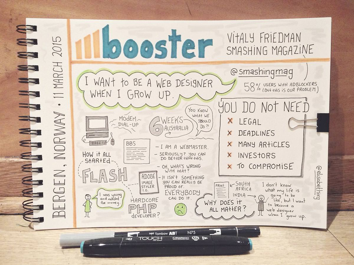 Booster 2015 // Vitaly Friedman