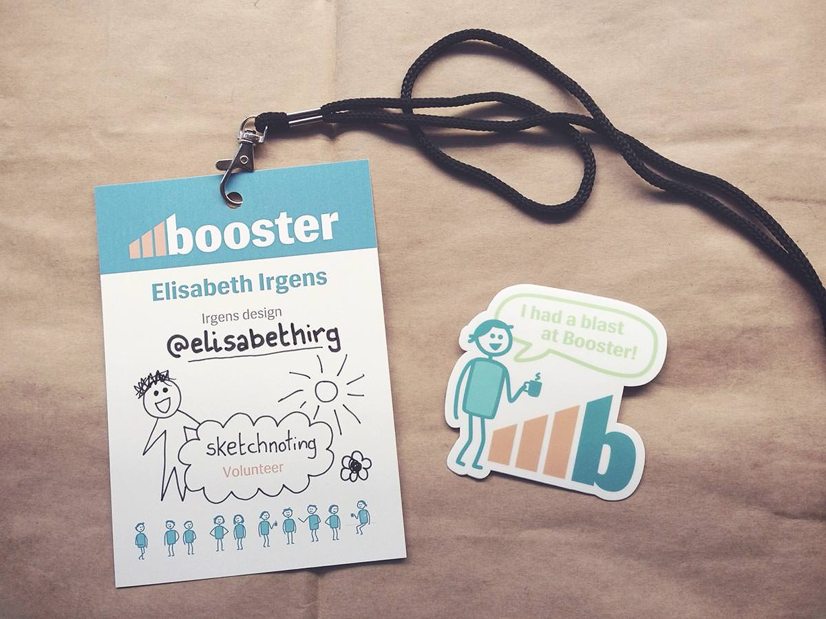 Booster 2015 // thanks for having me!