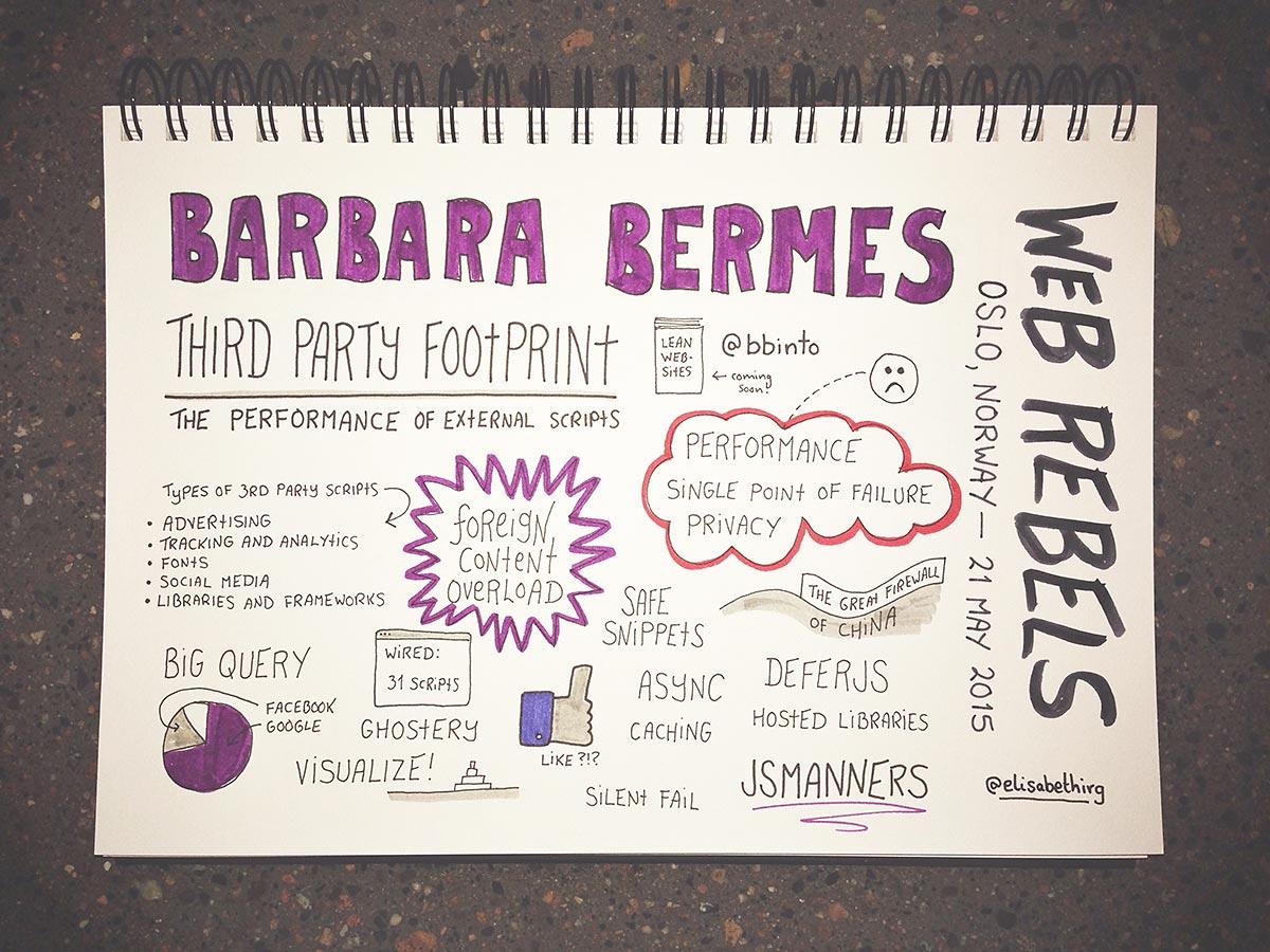 Web Rebels 2015 // Barbara Bermes