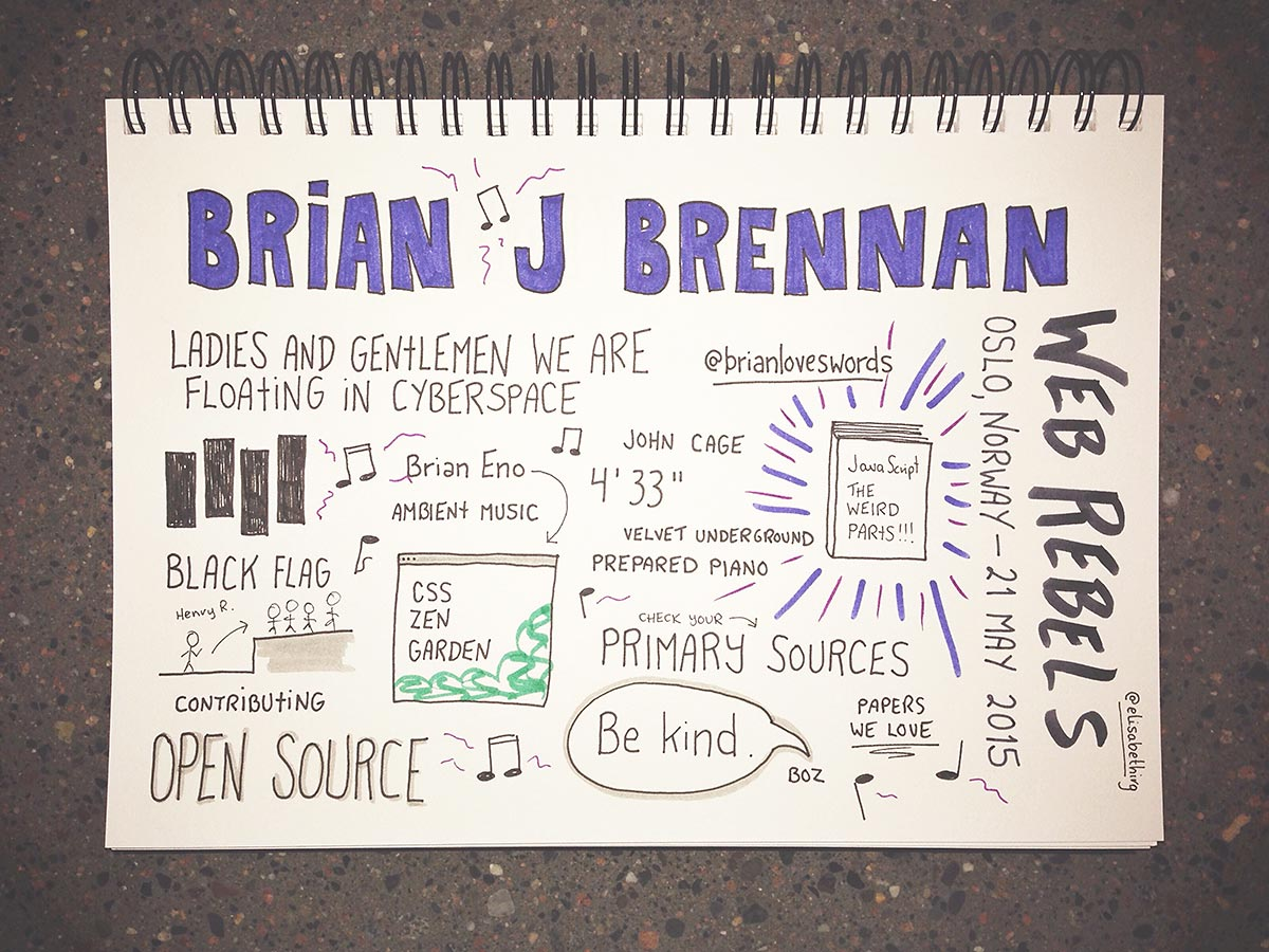 Web Rebels 2015 // Brian J Brennan