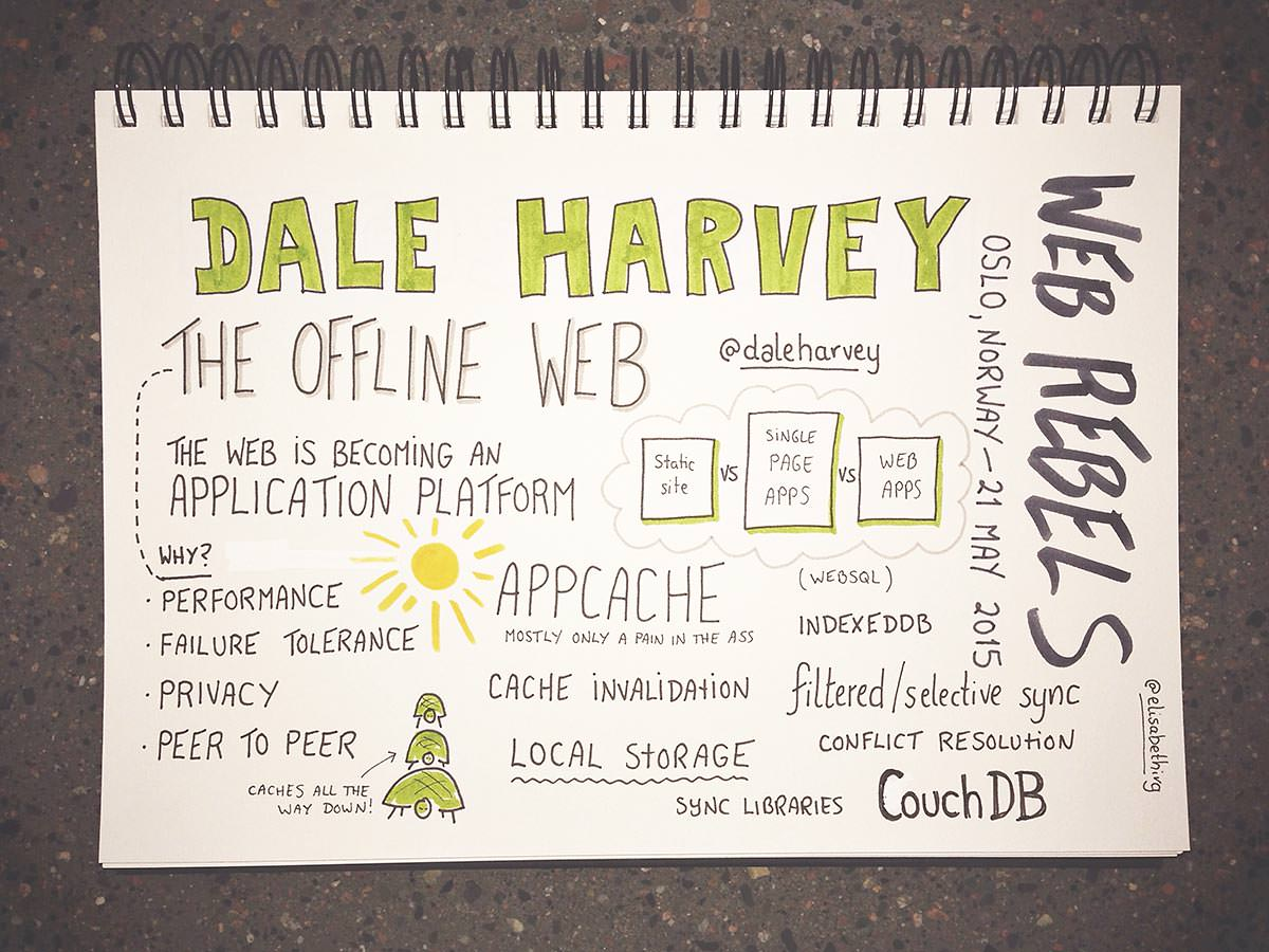 Web Rebels 2015 // Dale Harvey
