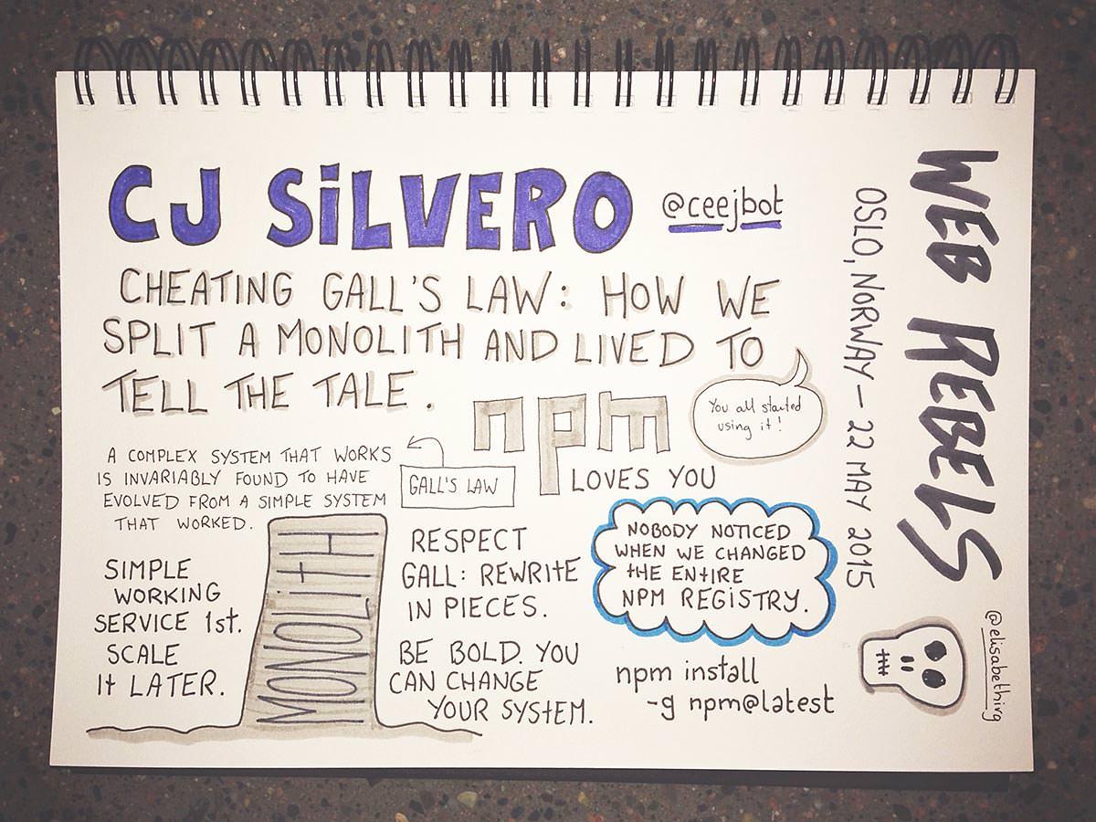 Web Rebels 2015 // C J Silverio