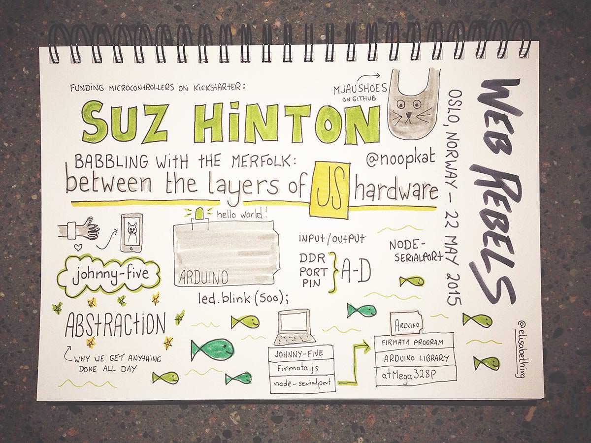 Web Rebels 2015 // Suz Hinton