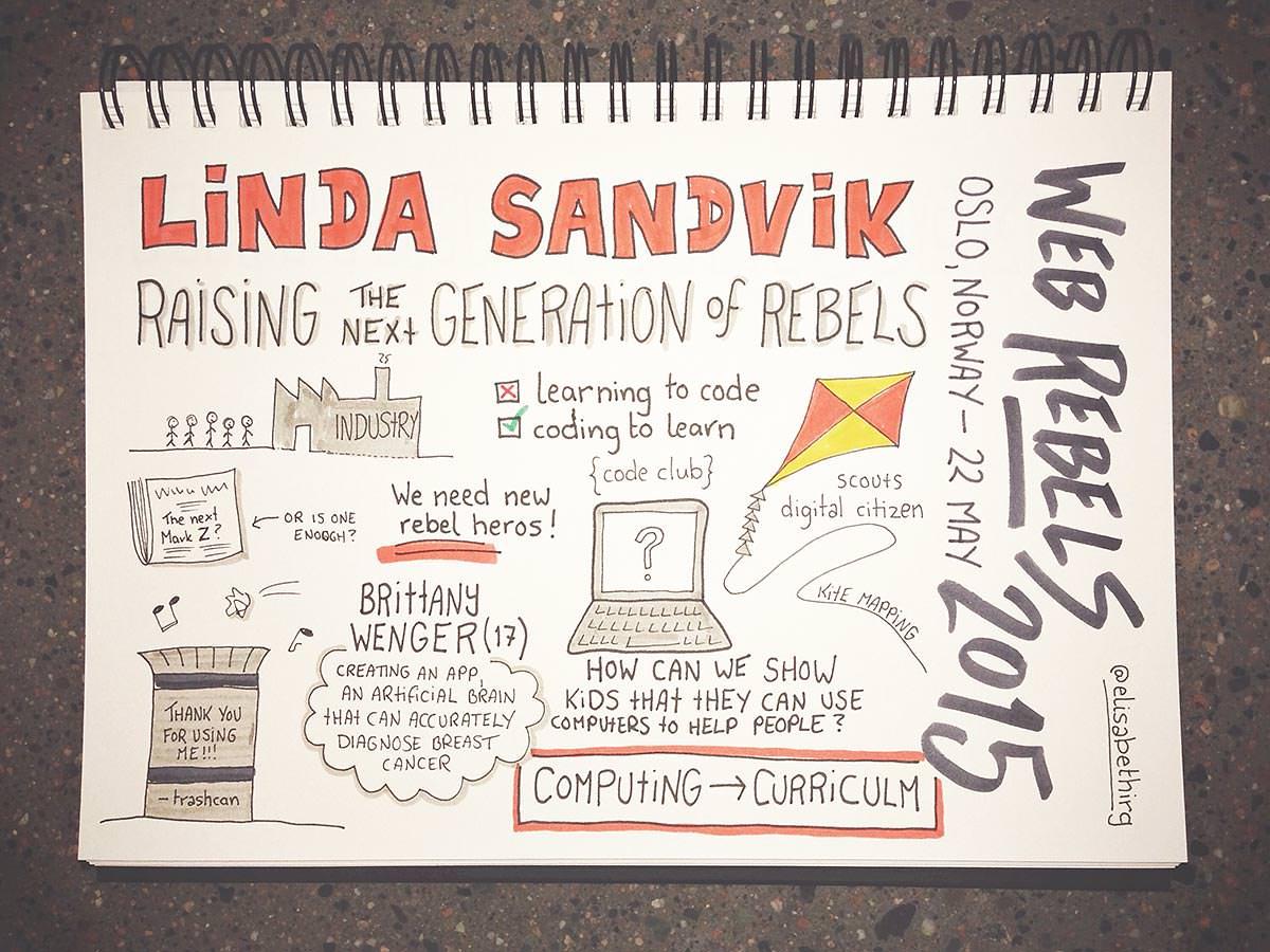 Web Rebels 2015 // Linda Sandvik