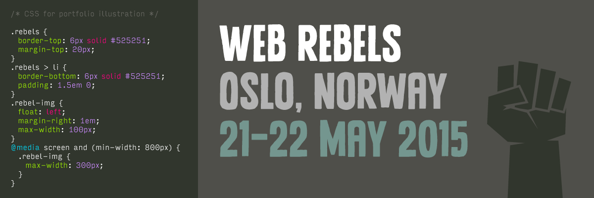 HTML/CSS for Web Rebels
